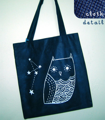 le boygirlparty shoppe: tote bag details :  bag owl boygirlparty mesh
