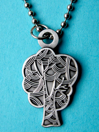 lovely tree necklace :  necklace jewelry unusual pendant
